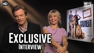 Nonton Cameron Diaz   Colin Firth Gambit Movie Exclusive Interview Film Subtitle Indonesia Streaming Movie Download