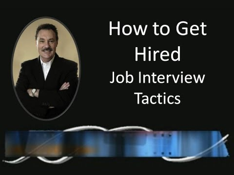 How to Get Hired – Job Interview Tactics | Sales & Marketing Speaker | Frank Furness