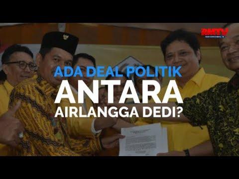 Ada Deal Politik Antara Airlangga Dedi?