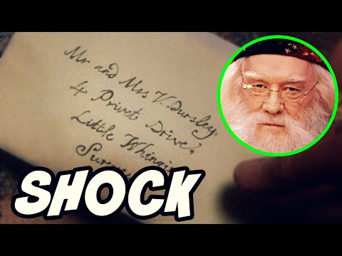 Dumbledore's SURPRISING Letter to the Dursley's - Harry Potter Explained