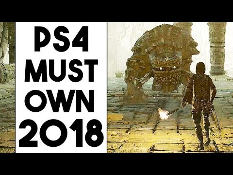 5 MUST OWN PS4 Games in 2018 So Far