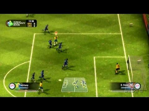 2006 FIFA World Cup PC Games Gameplay – Brazil vs. Croatia