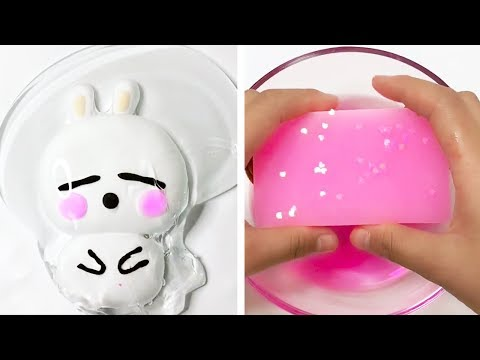 The Most Satisfying Slime ASMR Videos  Relaxing Oddly Satisfying Slime 2019  115