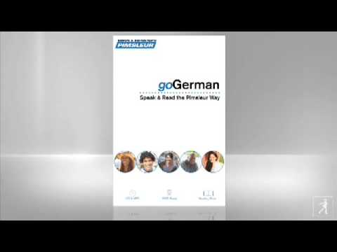 Pimsleur German Lesson 1 (видео)