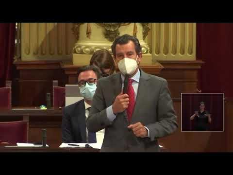 Company entrega a Armengol las 360 propuestas del PP para combatir la pandemia y le pide respeto