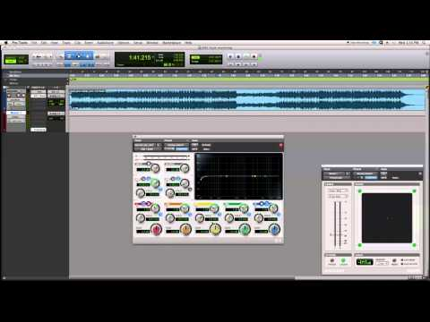 Pro Tools Tutorial | Basic Mastering | Part 1 | Trim & EQ