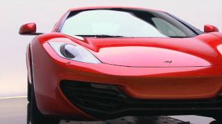 Antony Sheriff, McLaren Managing Director with McLaren MP4-12C