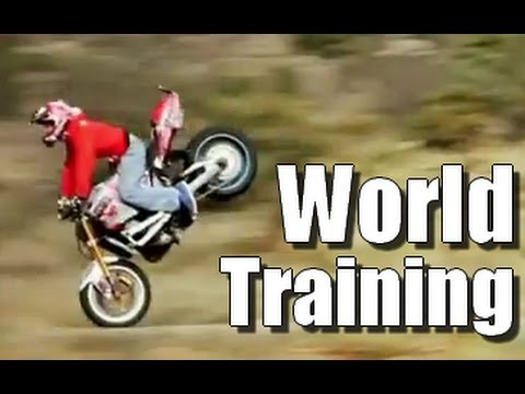 Stunt Riding Life Motorbike – World Training – Jorian Ponomareff