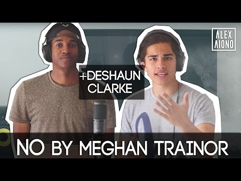No by Meghan Trainor (GUY'S PERSPECTIVE)   Cover by Alex Aiono and Deshaun Clarke (видео)