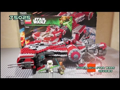 defender - Обзор на русском. Lego Star Wars 75025 Jedi Defender-Class Cruiser Review | Обзор на 75025 Джедайский Защитник. Minifigures: Jedi Knight, Jedi Consular,...