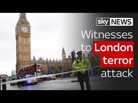 Londonski napad / Foto SkyNews / Youtube