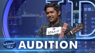 Video Ahmad Abdul menyanyikan lagu Lost Star dari Adam Levine - AUDITION 1 - Indonesian Idol 2018 MP3, 3GP, MP4, WEBM, AVI, FLV Desember 2018