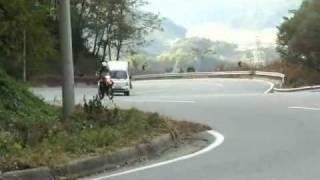 8. Hyosung RX125 onroad riding