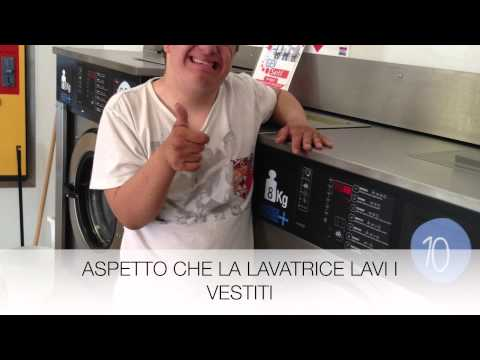 Watch video Sindrome di Down: Come lavarare i vestiti alla lavanderia automatica