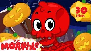 Video Kids Halloween With Morphle! - Magic Pet Morphle Halloween Video for children MP3, 3GP, MP4, WEBM, AVI, FLV Juli 2019