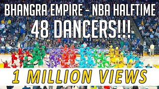 Bhangra Empire @ NBA Halftime Show (Warriors vs. Suns) 2018