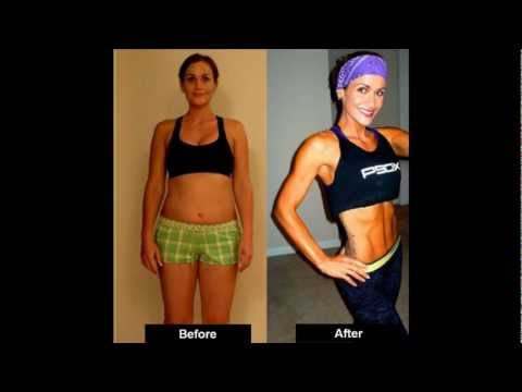 BEST WEIGHT LOSS TRANSFORMATION P90X success story! – Jamie Len