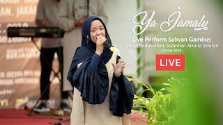 Ya Jamalu - Nissa Sabyan Live Sudirman, Jakarta Selatan (HD)