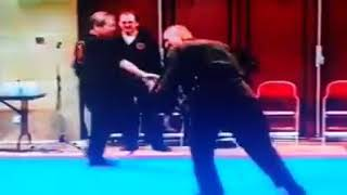 Video Soke Masaaki Hatsumi breaks Boken with his shuto strike - Ninjutsu klub Bujinkan Leskovac MP3, 3GP, MP4, WEBM, AVI, FLV Desember 2018