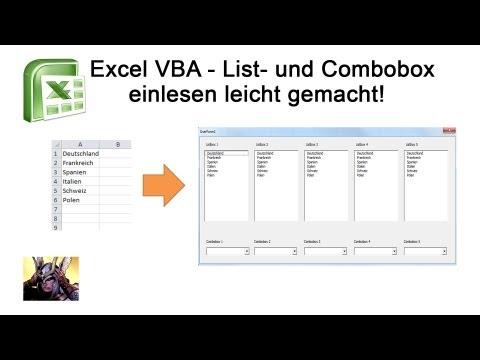 Связанные combobox vba