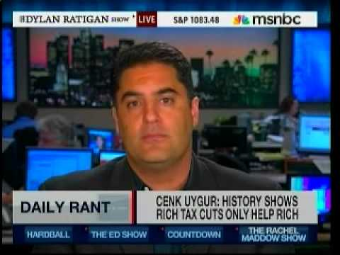 rich tax cuts - See the facts on Tax Cuts Here: http://tinyurl.com/2az2fs7 Host of The Young Turks Cenk Uygur kicks off his first weekly segment on MSNBC's Dylan Ratigan Sho...
