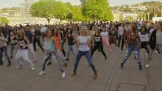Stuttgart Germany  City new picture : Zumba Flashmob Stuttgart (Germany) April 2015 - Tanz ES Esslingen & MoveDanceSweat