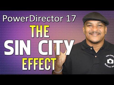 How to Make the Sin City Effect in CyberLink PowerDirector 17   Color Splash Tutorial