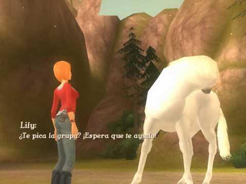 alexandra ledermann la colline aux chevaux sauvages wii youtube