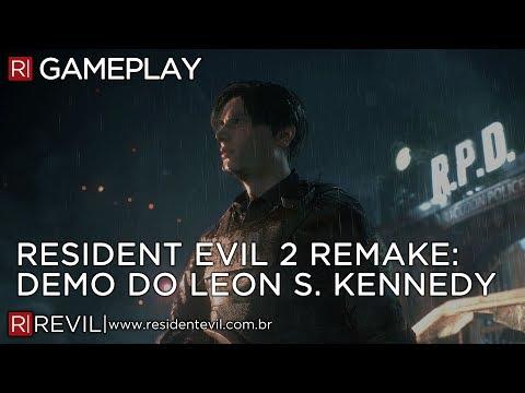 RESIDENT EVIL 2 REMAKE - DEMO COMPLETA DA E3 EM FULL HD | REVIL