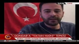 Başkanımız Murat Şahin tv24 Canlı Yayınında.