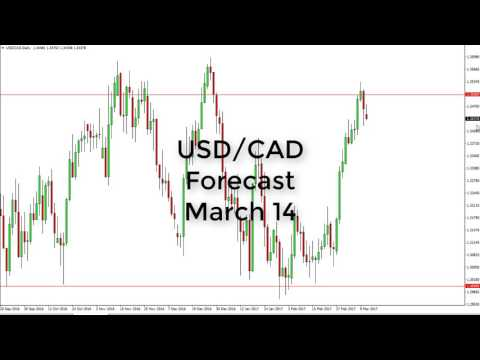USD/CAD Technical Analysis for March 14 2017