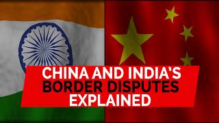 China and India share a long border of almost 3500km, but no official boundary has ever been agreed by the two countries.