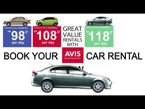 Great Value Rentals with Avis Malaysia