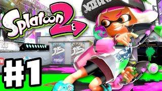 Download Lagu Splatoon 2 - Gameplay Walkthrough Part 1 - Turf War Multiplayer! Single Player! (Nintendo Switch) Mp3