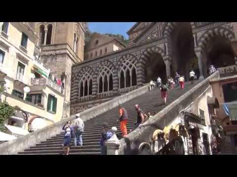 Campania: Amalfi town centre