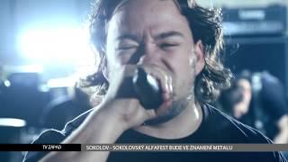 Video Sokolov: Sokolovský Alfafest bude ve znamení metalu (TV Západ)