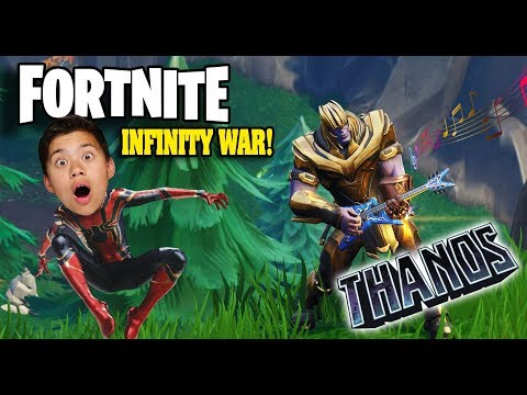 I AM THANOS!!! Fortnite Avengers Infinity War - RACE TO THE INFINITY GAUNTLET!