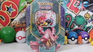 Opening A Pokemon Volcanion EX Tin!! by Unlisted Leaf