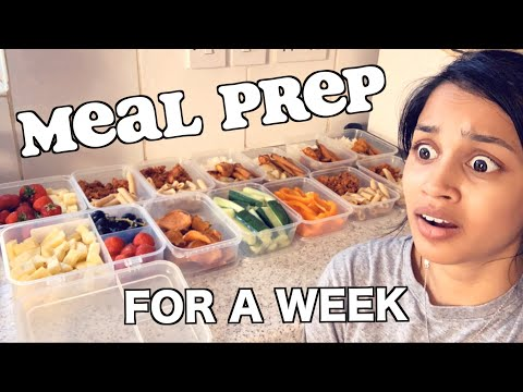 I Tried To Meal Prep For A Week *cheap Budget Food* | Clickfortaz