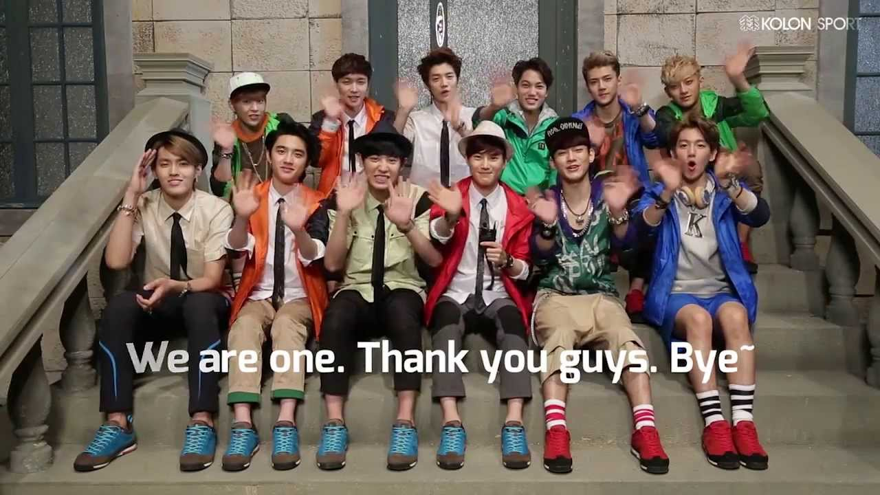 [engsub] EXO – Kolon Sports MOVE-XO CF Behind Story