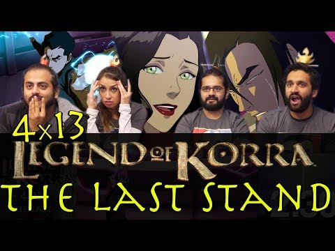 The Legend of Korra - 4x13 The Last Stand - Group Reaction