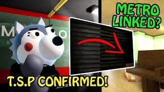 Roblox PIGGY: Book 2 ALL SECRETS, STORE METRO LINK & T.S.P CONFIRMED!