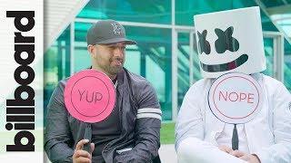 Video Marshmello & Moe Shalizi Play 'Never Have I Ever'   Billboard MP3, 3GP, MP4, WEBM, AVI, FLV April 2018