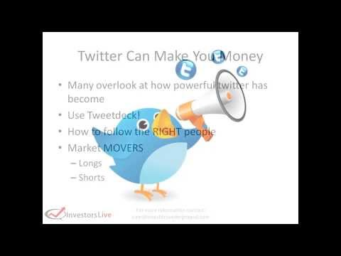 Day Trading Tips – How twitter can help you profit