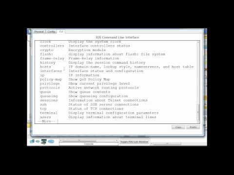 cli - A Cisco IOS command line interface tutorial for beginners. CCNA http://danscourses.com.