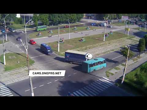 ДТП в Каменском на улице Антошина