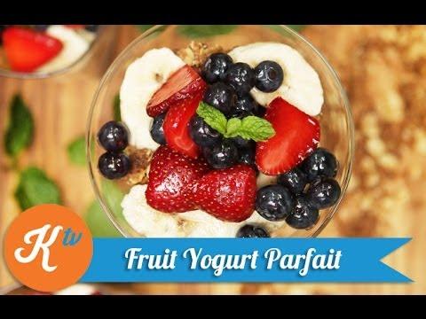 Resep Yogurt Parfait Almond Crumble (Yogurt Parfait Almond Crumble Recipe Video)