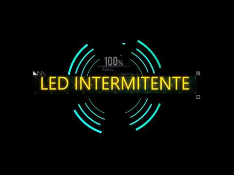 Tutoriales Arduino Center - LED Intermitente