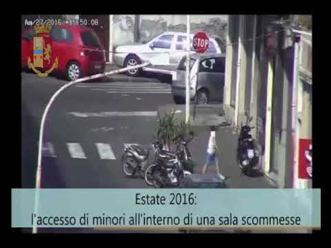 Minori nei centri scommesse illegali VIDEO