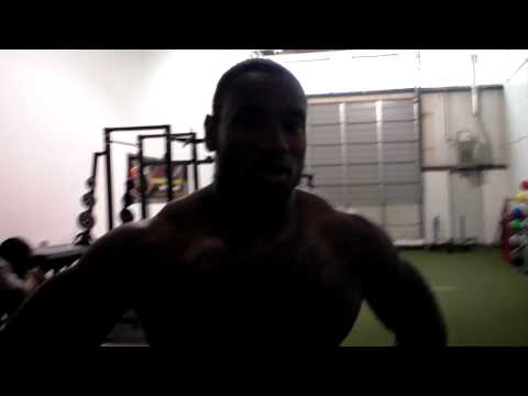 Sio Moore finishing workout video.